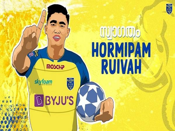 Kerala Blasters FC sign young Indian defender Hormipam Ruivah