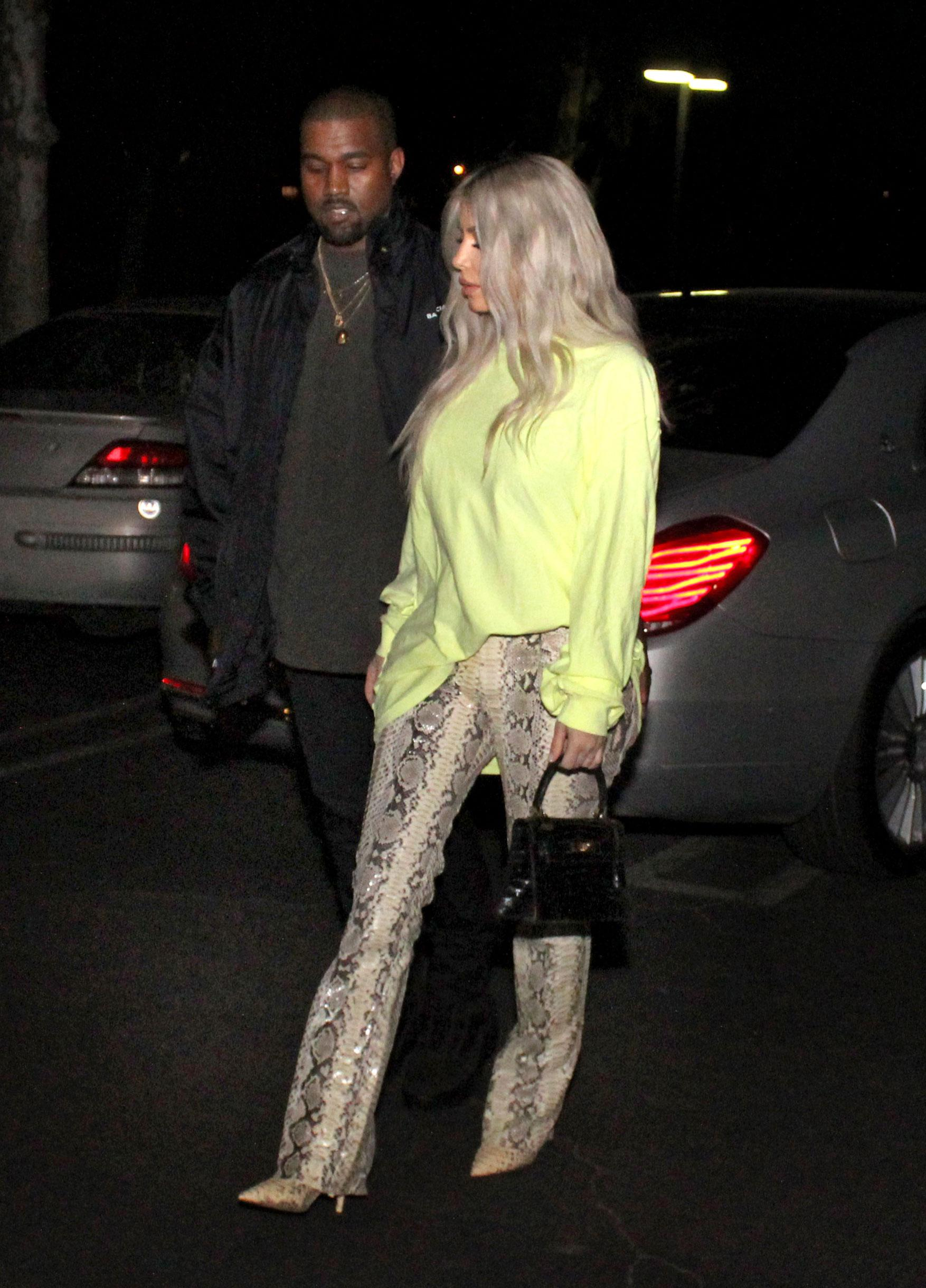 Kim kardashian and kanye west have their first date night since kim kardashian and kanye west have their first date night since the birth of daughter chicago video nvjuhfo Gallery