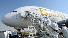 Emirates Airlines suspends flights to dozens more cities