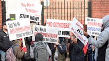 Hundreds of Birmingham parents protest over teacher running LGBT lessons
