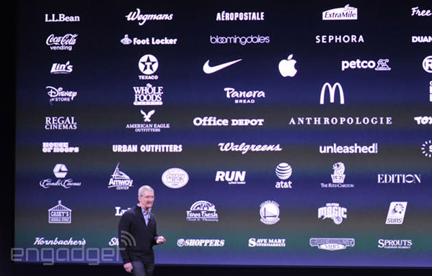 Apple Pay adoption triples to 700,000 locations in six weeks
