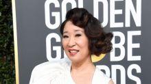 Sandra Oh Wins Golden Globe For 'Killing Eve' And Pulls Off Historic Hosting Gig