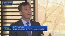 Manulife CEO discusses the opportunities from China's ref...