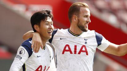 Son's four goals set tone in Tottenham rout