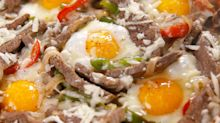 Finally You Can Have Cheesesteak For Breakfast With These Delicious Baked Eggs