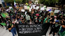 Marche dans les rues de Mexico pour réclamer la légalisation de l'avortement