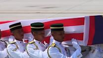 First bodies of Malaysian victims of the MH17 plane crash arrive home
