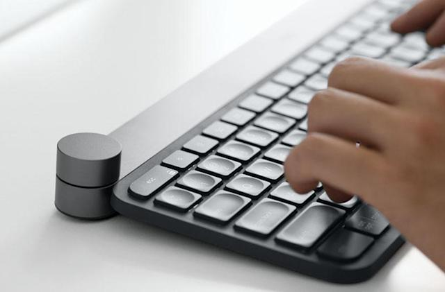 Logitech Craft keyboard has a 'smart' dial for creatives