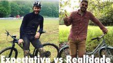 Evaristo Costa divulga meme com Rodrigo Hilbert e se destaca na web
