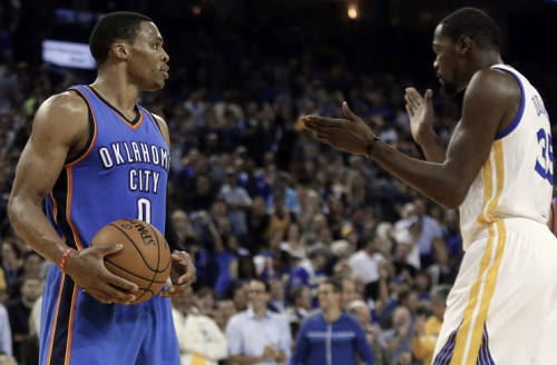 Kevin Durant is extremely supportive. (AP)