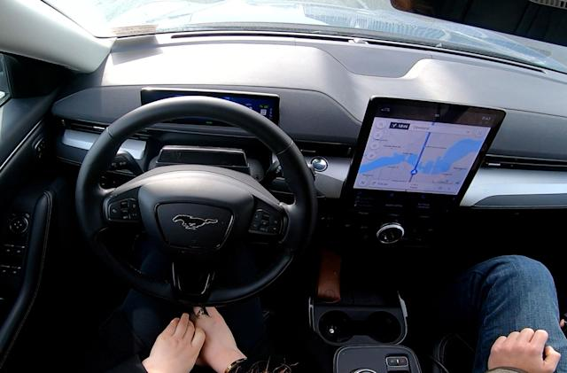 Ford's BlueCruise self-driving tech did a 110,000-mile road trip