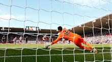 Premier League: Jakupovic's last-gasp penalty save preserves vital point for Hull City