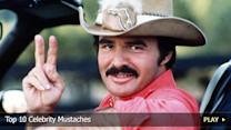 Top 10 Celebrity Mustaches