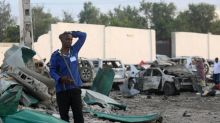 Death toll from Somalia blasts rises to 45: government official