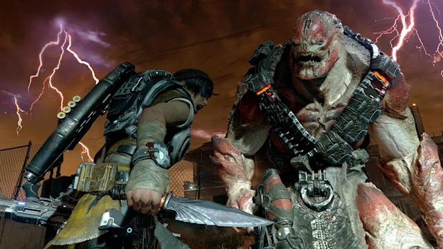 20-minute 'Gears 4' prologue playthrough looks very familiar
