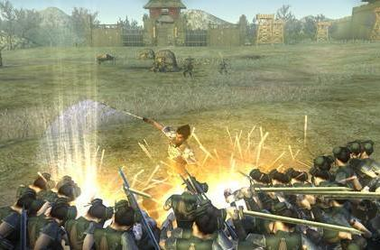 Tear through mobs galore in Dynasty Warriors Online