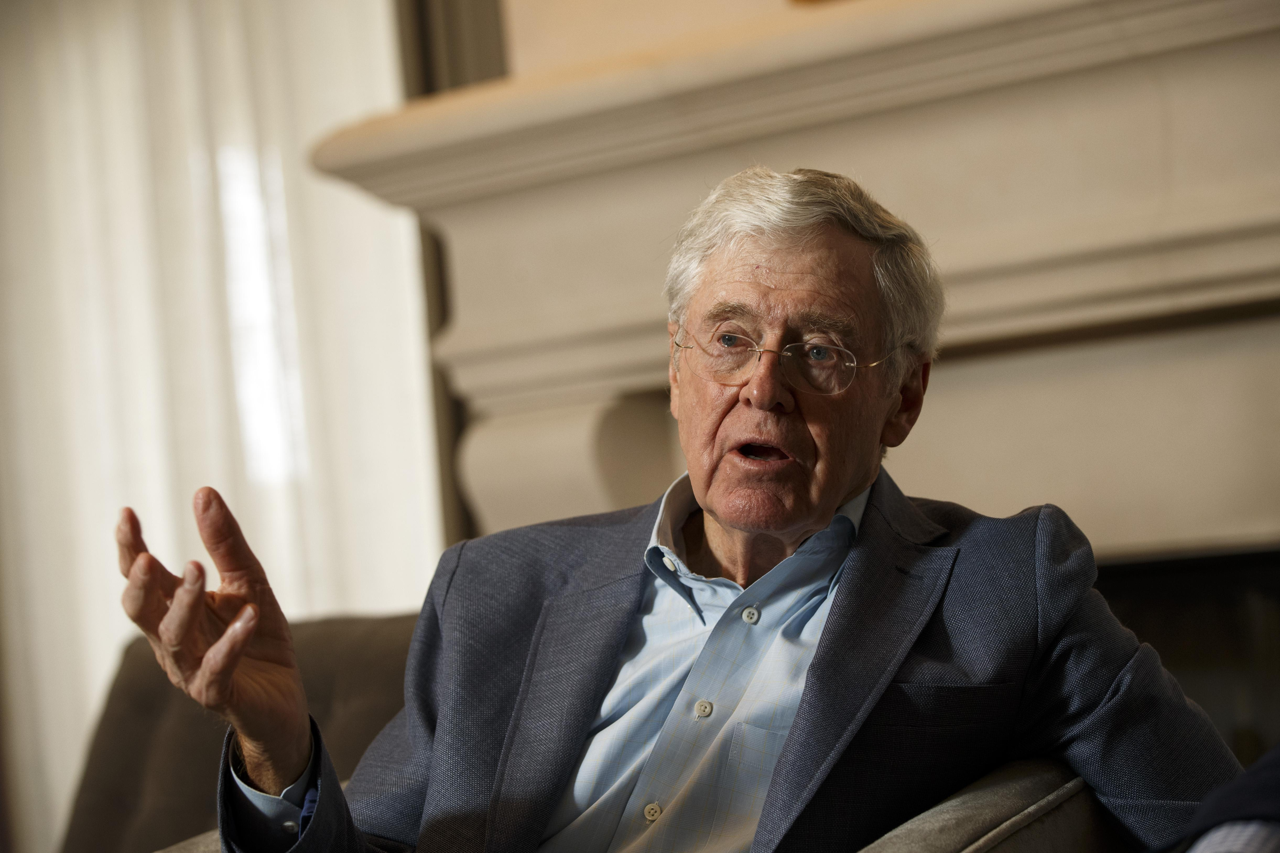 Koch Brothers' Group Starts Ads in Nevada, Ohio and Pennsylvania