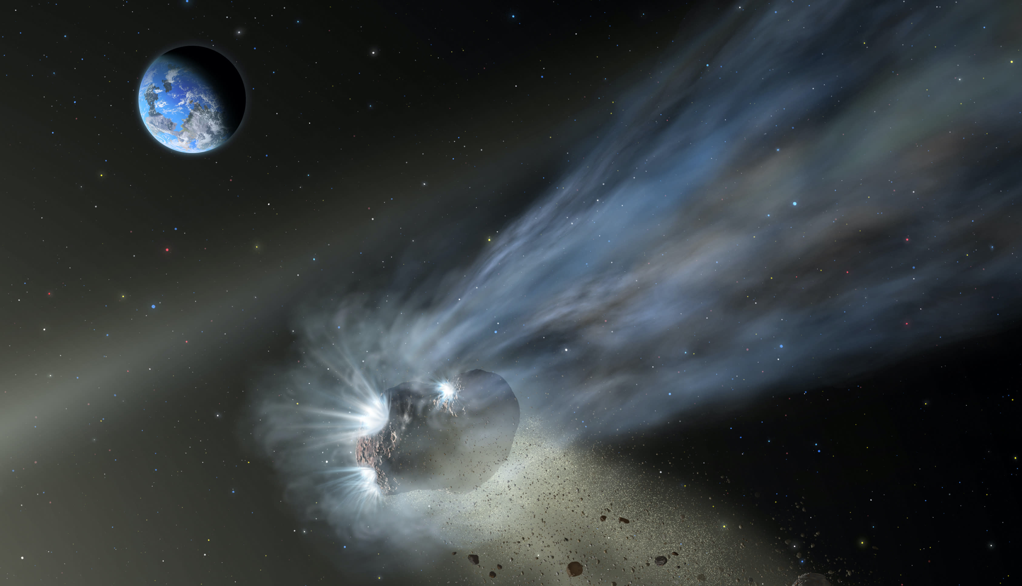 Comets may have seeded Earth with life-supporting carbon - Engadget