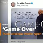 Trump uses another 'Game of Thrones' meme to celebrate Mueller report