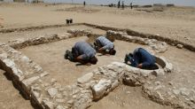 Israel unearths remains of rare ancient mosque