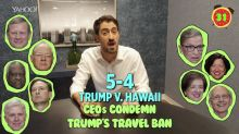 Business + Coffee: Trump tariffs hammer biggest US nail maker, CEOs condemn Trump travel ban, Facebook allows crypto ads