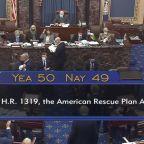 Senate passes $1.9 trillion COVID relief package