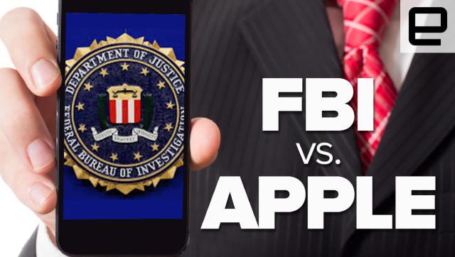 Watch the Engadget staff on: FBI vs. Apple