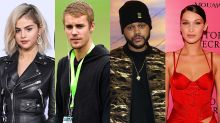 Keeping up with Selena Gomez, Justin Bieber, the Weeknd, and Bella Hadid's Instagram drama