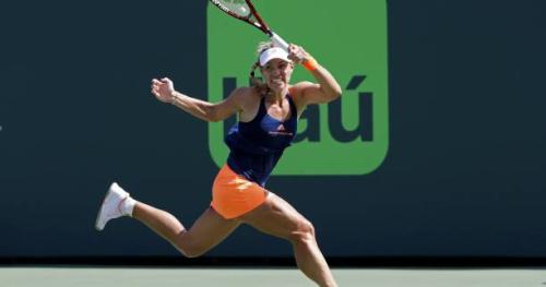 Tennis - WTA - Miami - Angelique Kerber facilement qualifiée pour les quarts de finale à Miami