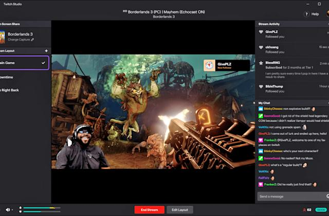 Twitch's streaming software for newbies arrives on Mac