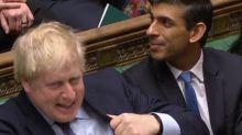 New chancellor Rishi Sunak awkwardly sits through Sajid Javid's warning about Dominic Cummings