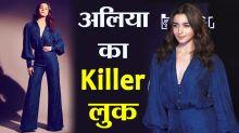 Alia Bhatt looks stunning in Blue dress at Critics Choice Film Awards in Mumbai