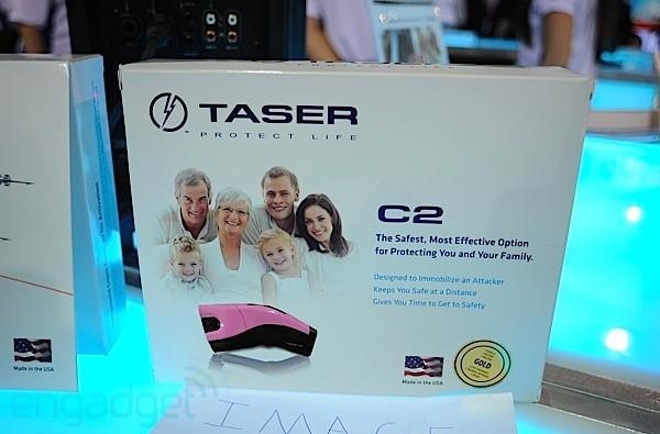 Crapgadget CES, round two: TASER C2 now in pretty colors
