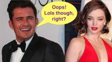 Orlando Bloom Warned Miranda Kerr Before Naked Pics Leaked