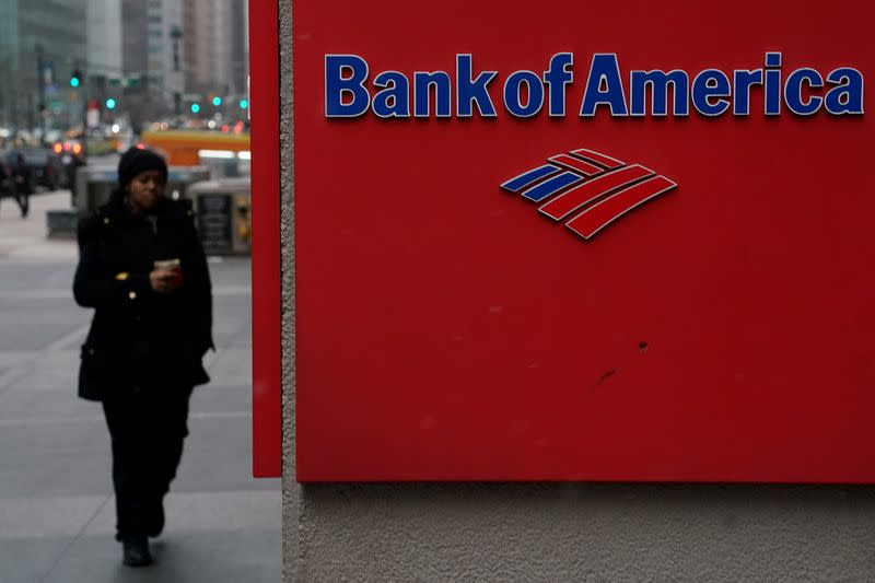 Bank of America profit more than doubles on trading gains, reserve release