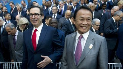 Mnuchin optimistic on resolution of trade fights
