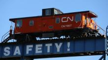 CN Rail tops profit estimates on higher crude shipments