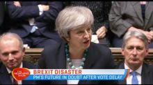 UK in turmoil as Brexit vote delayed
