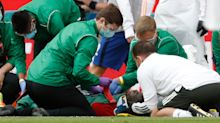Man Utd suffer injury blow as Bailly forced out of FA Cup semi-final with head injury