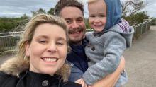 Pregnant mum's heartbreak after shock death of husband, 40
