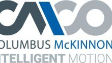 Columbus McKinnon Announces Closing of Public Offering and Full Exercise of Underwriters' Option to Purchase Additional Shares