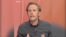Laurence Fox clashes with Question Time audience member