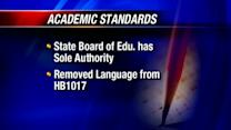 Board takes steps to claim authority over academic standards