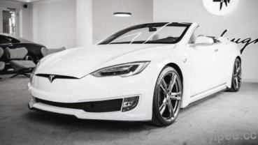 Tesla 特斯拉 Model S 也有敞篷版!由義大利改裝工作室 Ares Design 打造