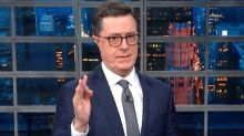 Stephen Colbert Exposes The Ridiculous Truth Behind Donald Trump's Latest 'Science' Boast