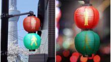 日本超靚交通燈 江戶時代風味Twitter熱傳