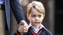 Prince George Receives A Pretty Terrifying Gift From Sir David Attenborough