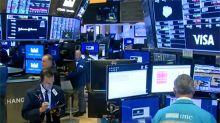 快新聞/傳中國暫停進口美國農產品 美股開盤道瓊下跌40點