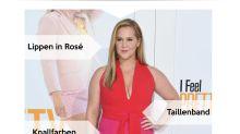 Look des Tages: Amy Schumer strahlt in Rottönen