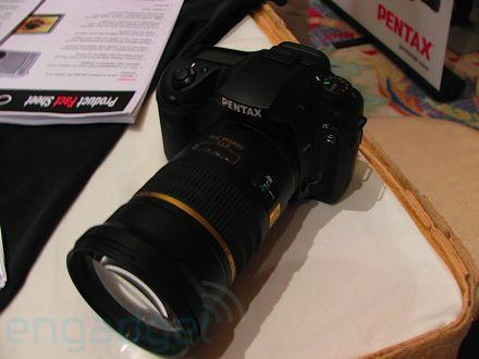 Hands-on with the Pentax K20D DSLR